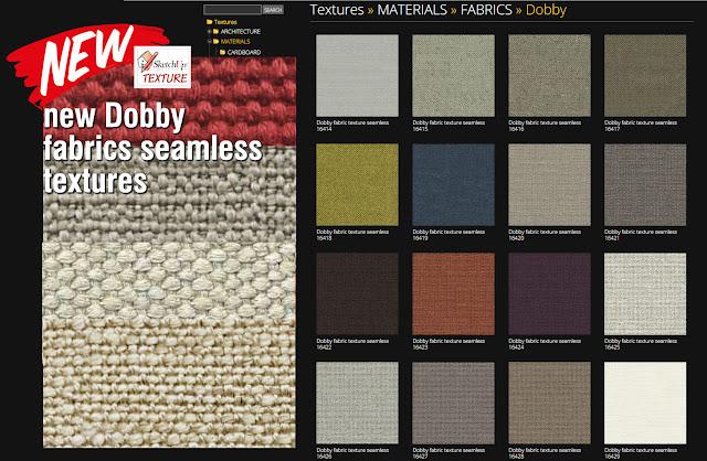 Dobby fabrics textures tiled
