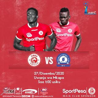 Simba SC VS MajiMaji FC (LIVE)