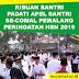 Berdesakan, Ribuan Santri Ikuti Apel Santri Se-Comal Peringati HSN 2019