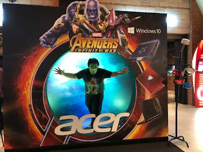 Acer Avenger Invinity War