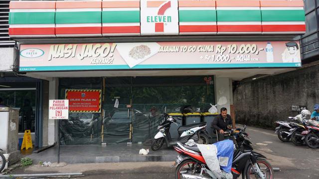 Gerai 7-Eleven yang Tutup
