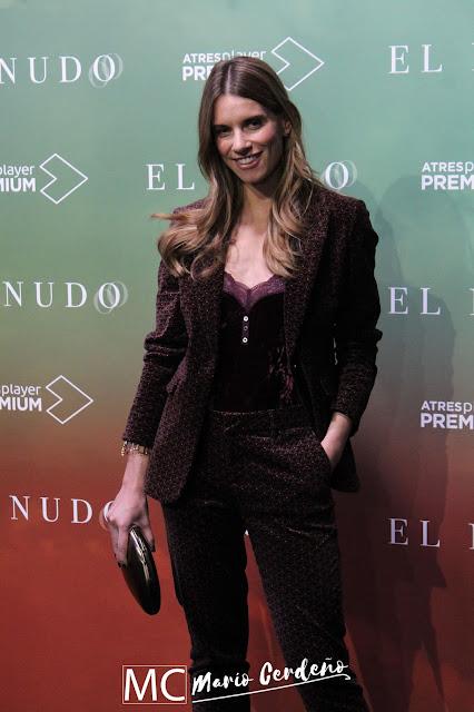 Mariona Tena en la presentación de 'El Nudo'