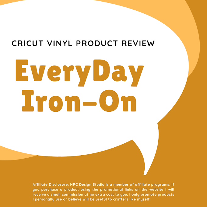 Cricut Everyday Iron-On Vinyl - Product Review