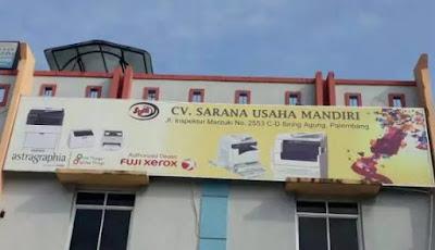 LOKER Admin & Karyawan CV. SARANA USAHA MANDIRI PALEMBANG AGUSTUS 2019
