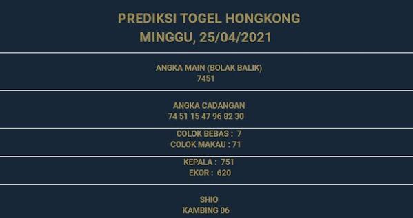 3 - PREDIKSI HONGKONG 25 APRIL 2021