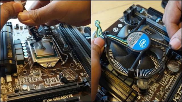 Cara Merakit Komputer PC Mudah Dengan Video Dan Gambar