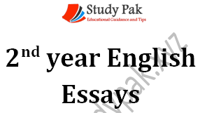 Important English essays notes for 2nd year