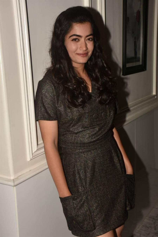 Rashmika Mandanna at Dear Comrade Special Screening in Mumbai