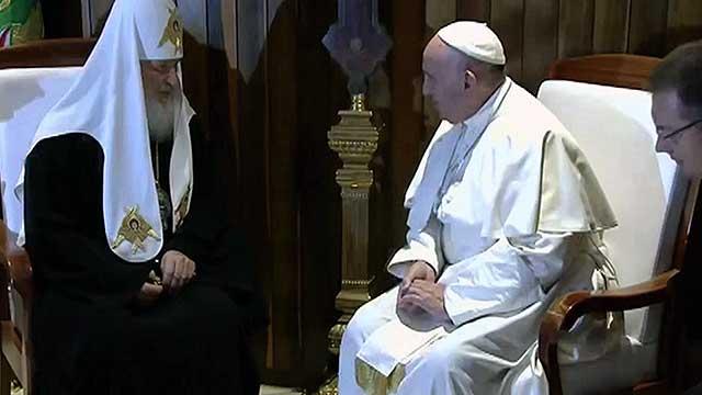 Патриарх Кирилл и Папа Римский Франциск подписали совместную декларацию на Кубе