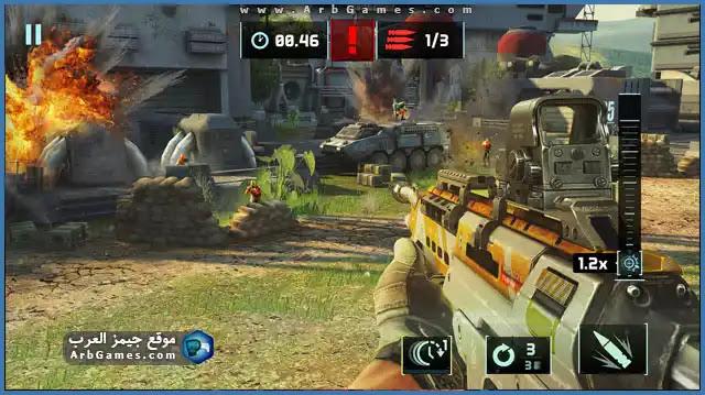 تحميل لعبه Sniper Fury للكمبيوتر من ميديا فاير برابط مباشر