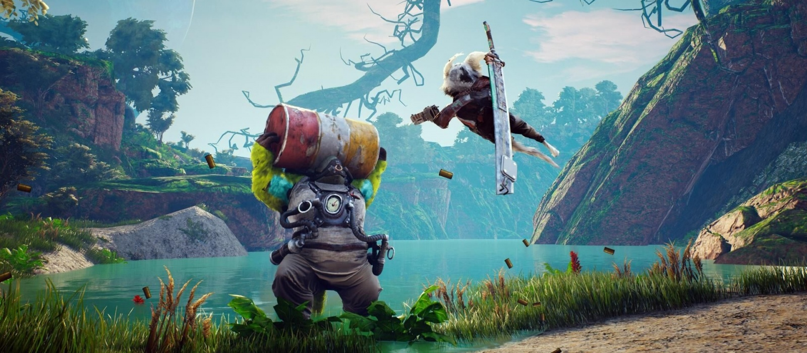 Where to find all the supporting characters in Biomutant