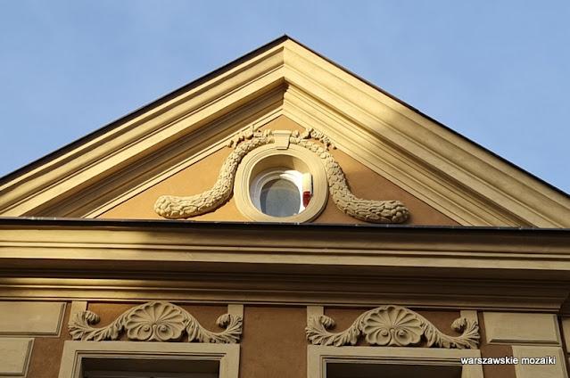Warszawa Warsaw zabytek architektura architecture pałacyk Nowe Miasto