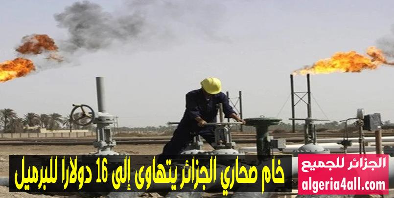 خام صحاري الجزائر يتهاوى إلى 16 دولارا للبرميل,oilprice.com