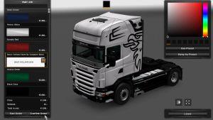 Scania RJL Basic Holland Style Skin