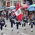 Desfile escolar por el 78° Aniversario de Tingo María