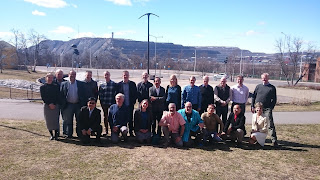 The ICDP Executive Committee in Kiruna, northern Sweden