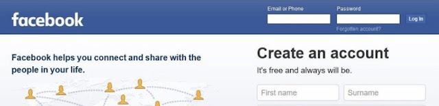 تسجيل الدخول الى فيسبوك