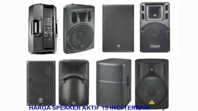 Harga Speaker Aktif Outdoor Terbaik