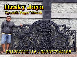 Dzaky Jaya adalah Spesialis pagar besi tempa klasik Jakarta