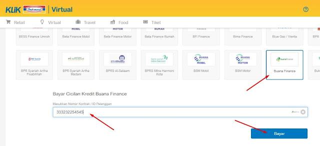 Cek angsuran buana finance secara online
