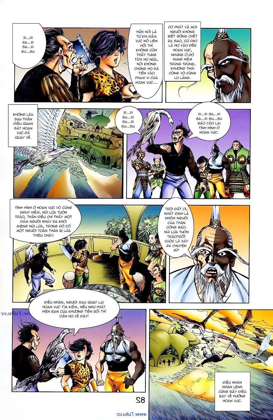Cơ Phát Khai Chu Bản chapter 104 trang 22