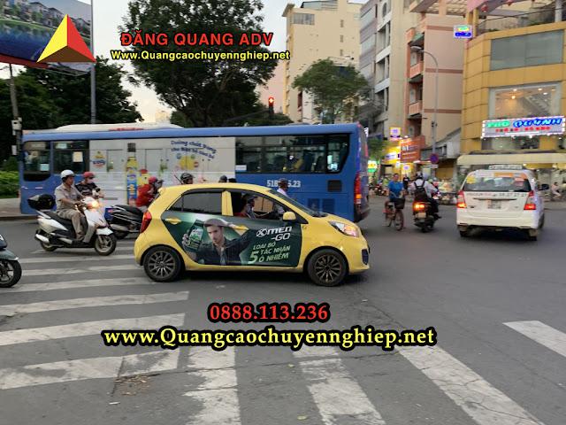 Dán quảng cáo trên taxi