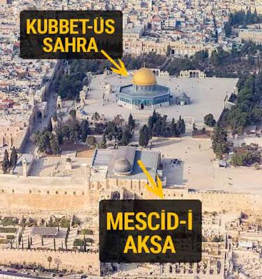 Mescid-i Aksa ile Kubbet-üs Sahra Arasındaki Fark Nedir