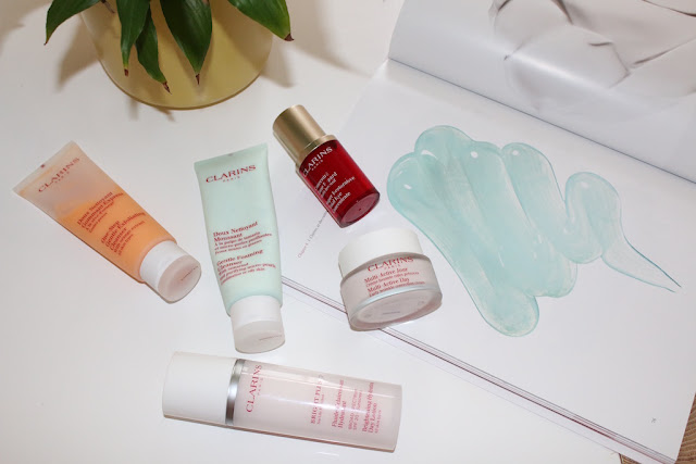 My Daytime Clarins Skincare Routine - Vanilla Blonde