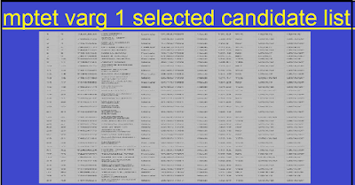 mptet varg 1 selected candidate list mponline