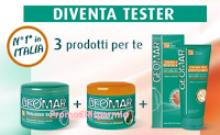 Logo Geomar : diventa tester scrub, fango e crema