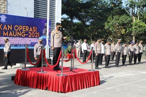 Bulan Ramadan, Polresta Tangerang Laksanakan Operasi Keselamatan Maung