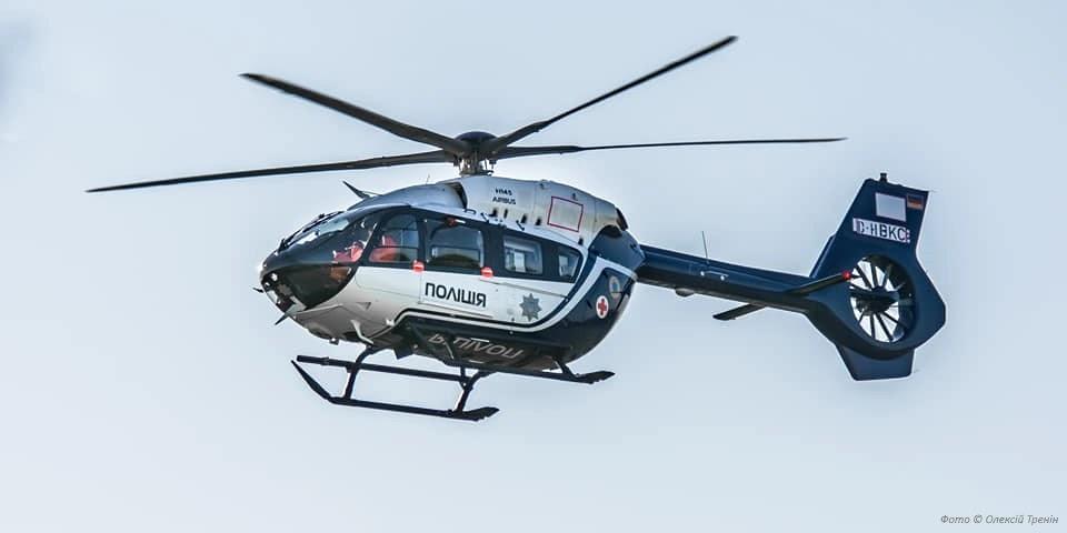 В Україну прибув шостий гелікоптер H145 для поліції