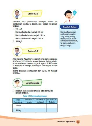 kunci jawaban buku tematik senang belajar matematika kelas 4 kurikulum 2013