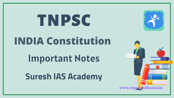India Constitution Study Material for TNPSC Exams