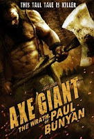 Axe Giant: The Wrath of Paul Bunyan (2016) - Poster