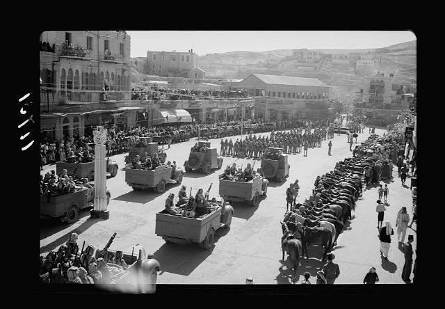11 September 1940 worldwartwo.filminspector.com Amman Jordan parade Arab Revolt King Hussein