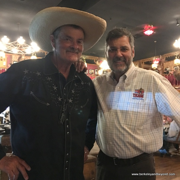 owners Bobbie and Danny at Big Texan Steak Ranch in Amarillo, Texas