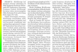 KrisEnergy Departs from the Andaman II Block
