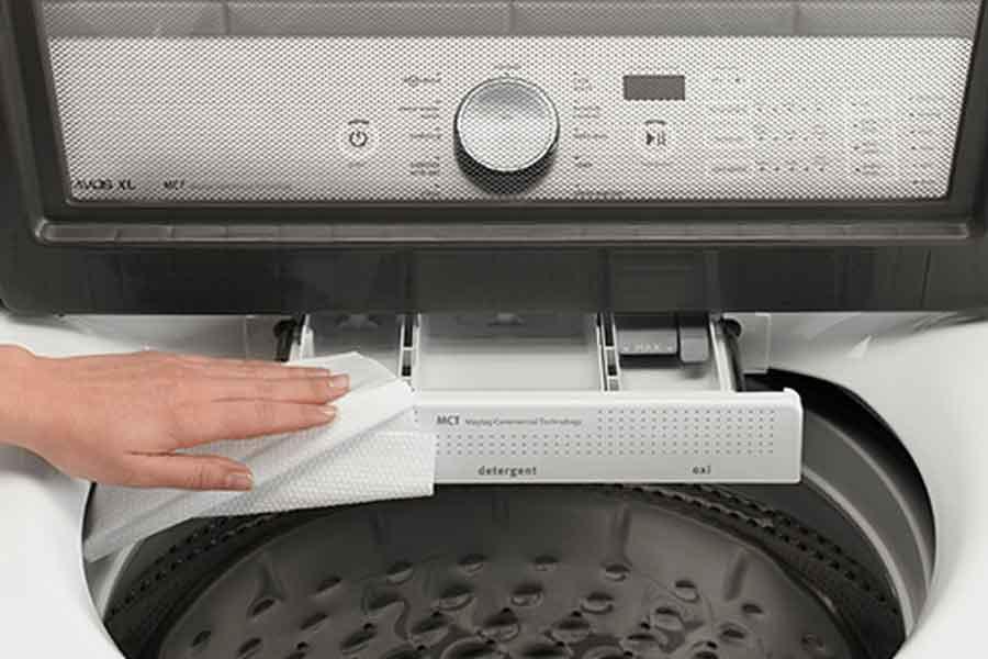 cara membersihkan dan merawat mesin cuci
