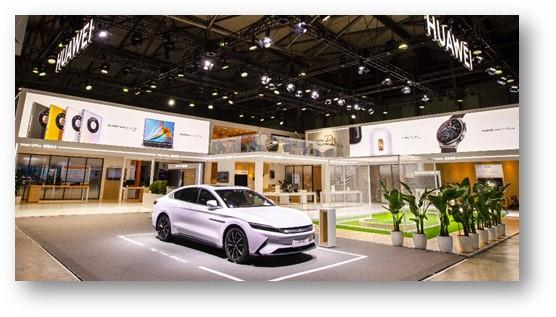 Projeto Casa Inteligente da Huawei apresentado no MWC de Xangai 2021