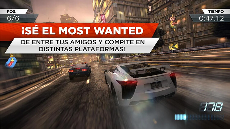 need for speed most wanted para android