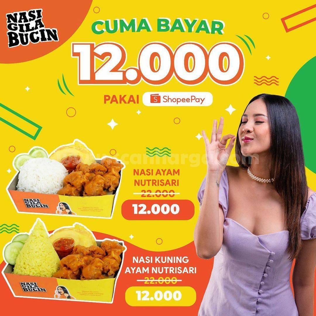 Nasi Gila Bucin Promo Cuma Bayar Rp 12.000 pakai ShopeePay