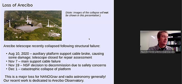 Sad ending of Arecibo Observatory  (Source: Paul Demorest, AAS 237)