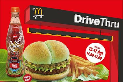 Promo McDonalds Beli 1 Gratis 1 Edisi 15 - 17 Agustus 2019