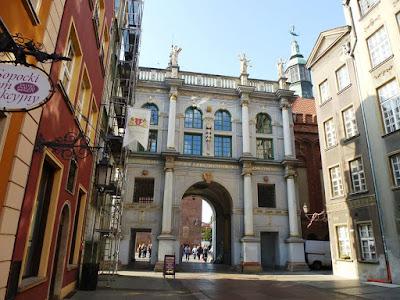 The Golden Gate in Gdańsk