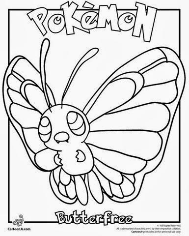 pokemon coloring pages servine moveset | Tarefas Blog: Desenhos dos Pokemon para Colorir