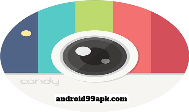 تطبيق Candy Camera - selfie v5.4.26 افضل تطبيق لإتقاط صور السيلفي بحجم 54 MB للاندرويد