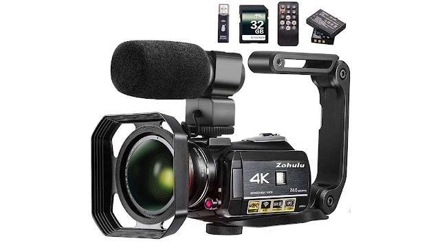 ZOHULU Wi-Fi Ultra HD Vlog Camera