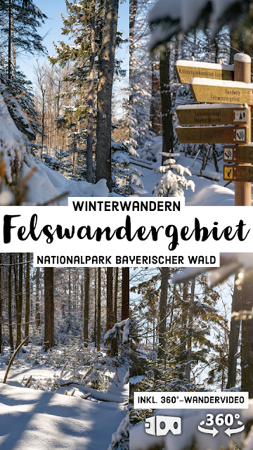 Rundweg Felswandergebiet  Wandern im Nationalpark Bayerischer Wald 14