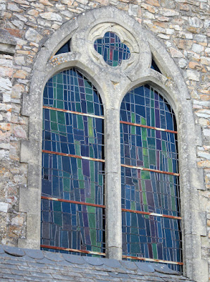 Stained Glass Window Sainte Suzanne